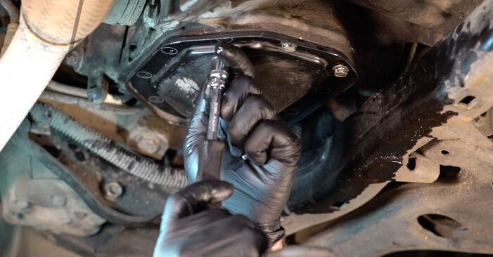 Opel Astra g f48 1.6 (F08, F48) 2000 Huile De Transmission et Huile Boite De Vitesse remplacement : manuels d'atelier gratuits