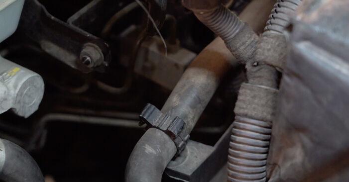 Getriebeöl und Verteilergetriebeöl Ihres Opel Astra g f48 1.6 16V (F08, F48) 2006 selbst Wechsel - Gratis Tutorial