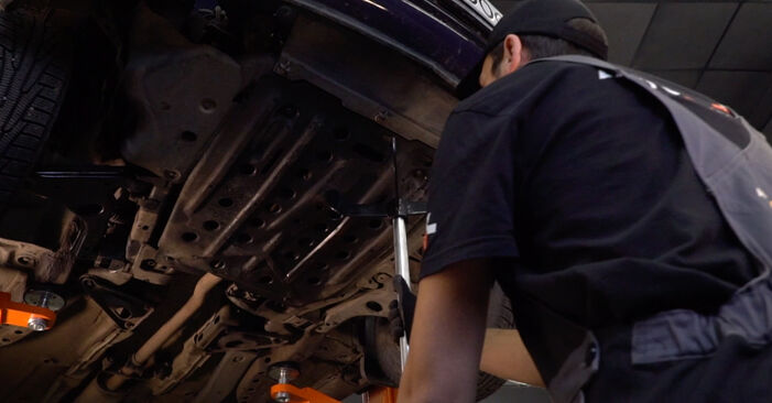 Wechseln Getriebeöl und Verteilergetriebeöl am OPEL Astra G CC (T98) 2.0 DTI 16V (F08, F48) 2001 selber