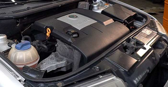 How to replace SKODA Fabia I Combi (6Y5) 1.4 16V 2000 Gearbox Oil and Transmission Oil - step-by-step manuals and video guides