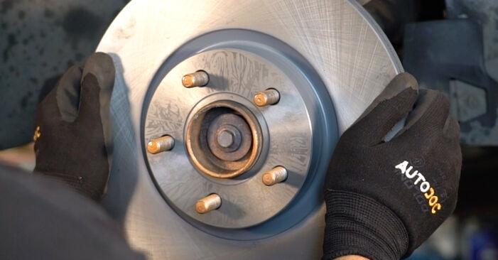 Смяна на Volvo v50 mw 1.6 D 2005 Спирачен диск: безплатни наръчници за ремонт