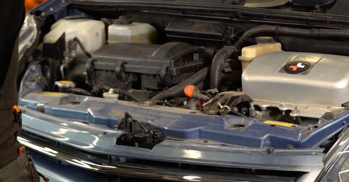 Hur byta Multirem på Toyota Prius 2 2003 – gratis PDF- och videomanualer