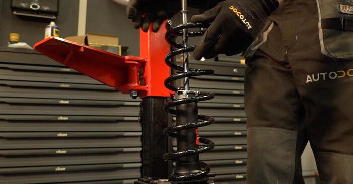Stoßdämpfer am TOYOTA PRIUS Liftback (NHW20_) 1.5 Hybrid (NHW2_) 2008 wechseln – Laden Sie sich PDF-Handbücher und Videoanleitungen herunter
