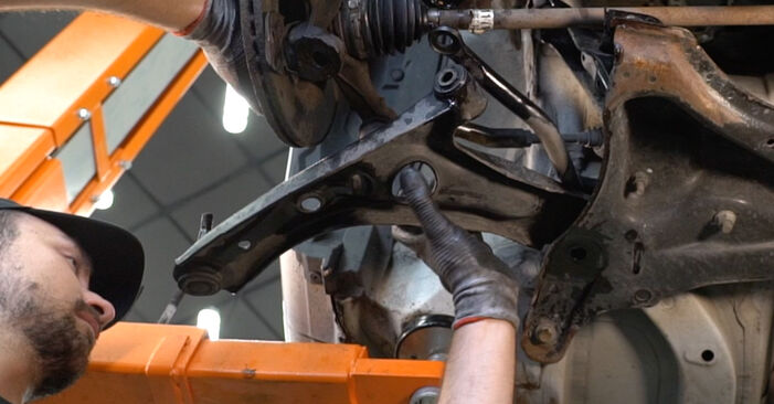 How to change Control Arm on CITROËN C1 (PM_, PN_) 2005 - free PDF and video manuals