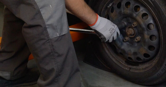How to replace CITROËN C1 (PM_, PN_) 1.0 2006 Control Arm - step-by-step manuals and video guides