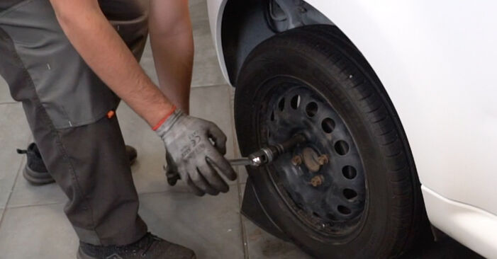 How to replace CITROËN C1 (PM_, PN_) 1.0 2006 Wheel Bearing - step-by-step manuals and video guides