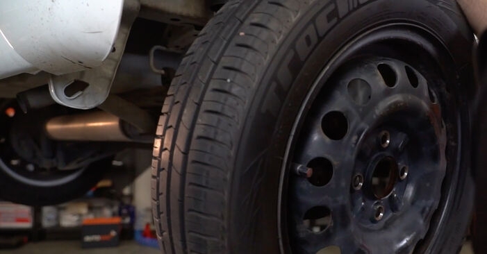 How to remove CITROËN C1 1.0 2009 Wheel Bearing - online easy-to-follow instructions