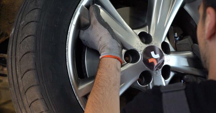 Lexus RX XU30 3.0 2005 Stabdžių diskas keitimas: nemokamos remonto instrukcijos