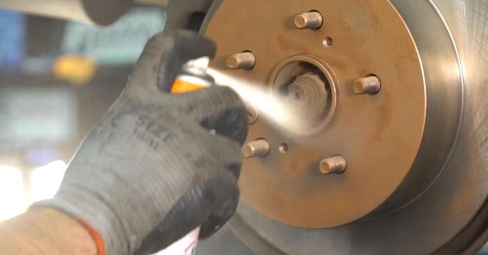 Wie Bremsscheiben beim Lexus RX XU30 2003 gewechselt werden - Unentgeltliche PDF- und Videoanweisungen