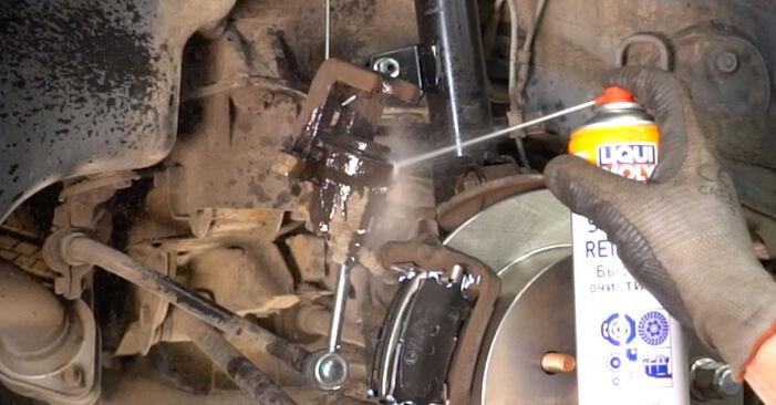 Wie LEXUS RX 3.5 2007 Bremsbeläge ausbauen - Einfach zu verstehende Anleitungen online