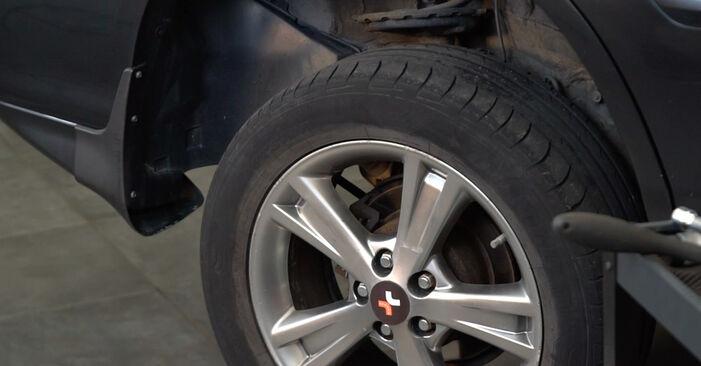 Lexus RX XU30 3.0 2005 Vikšro Valdymo Svirtis keitimas: nemokamos remonto instrukcijos
