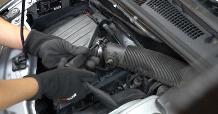 Wie Luftfilter Opel Meriva x03 1.7 CDTI (E75) 2003 tauschen - Kostenlose PDF- und Videoanleitungen
