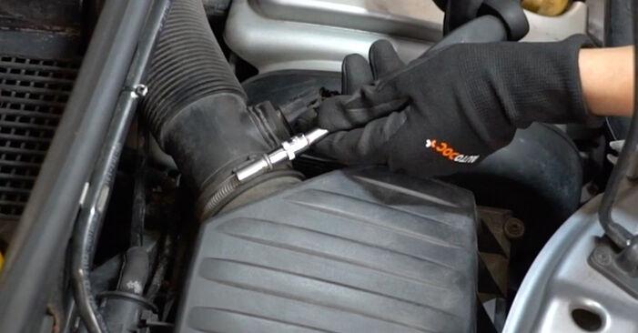 Luftfilter Opel Meriva x03 1.4 16V Twinport (E75) 2005 wechseln: Kostenlose Reparaturhandbücher