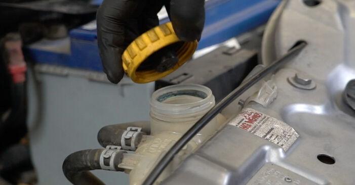 Sostituendo Termostato su Opel Meriva x03 2005 1.7 CDTI (E75) da solo