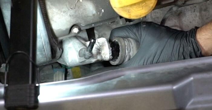 Quanto è difficile il fai da te: sostituzione Termostato su Opel Meriva x03 1.7 DTI (E75) 2009 - scarica la guida illustrata