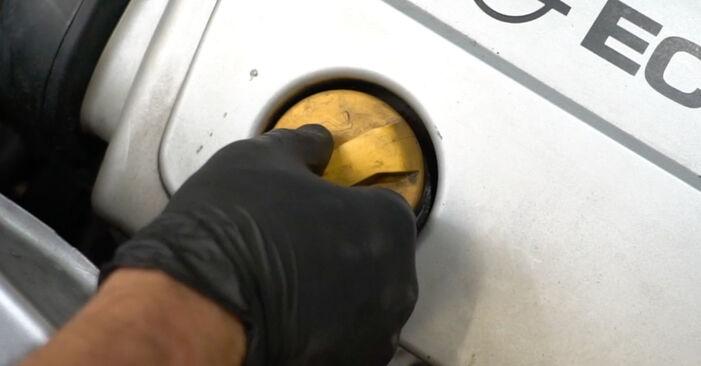 Opel Meriva x03 1.6 16V (E75) 2005 Thermostat keitimas: nemokamos remonto instrukcijos
