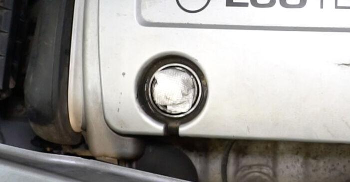 Ar sudėtinga pasidaryti pačiam: Opel Meriva x03 1.7 DTI (E75) 2009 Thermostat keitimas - atsisiųskite iliustruotą instrukciją