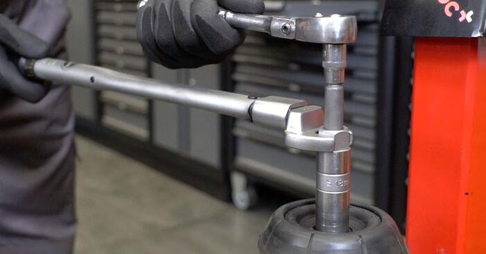 Zweckdienliche Tipps zum Austausch von Stoßdämpfer beim OPEL Meriva A (X03) 1.4 16V Twinport (E75) 2009