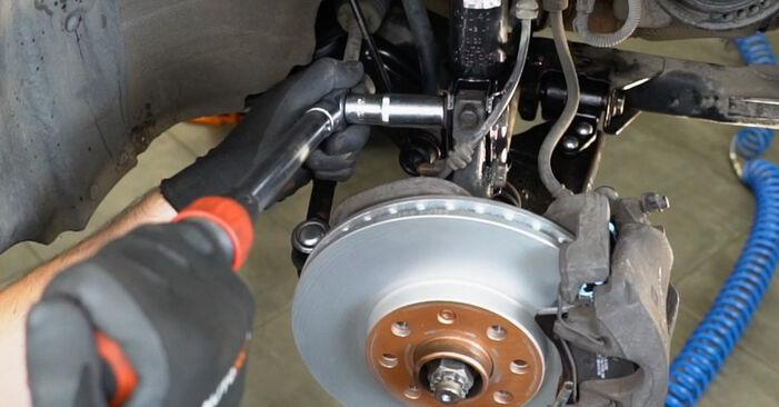 Austauschen Anleitung Stoßdämpfer am Opel Meriva x03 2005 1.7 CDTI (E75) selbst