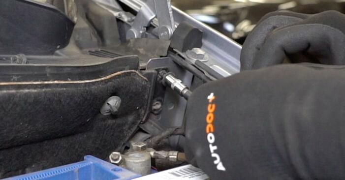 Stoßdämpfer Ihres Opel Meriva x03 1.6 16V (E75) 2003 selbst Wechsel - Gratis Tutorial