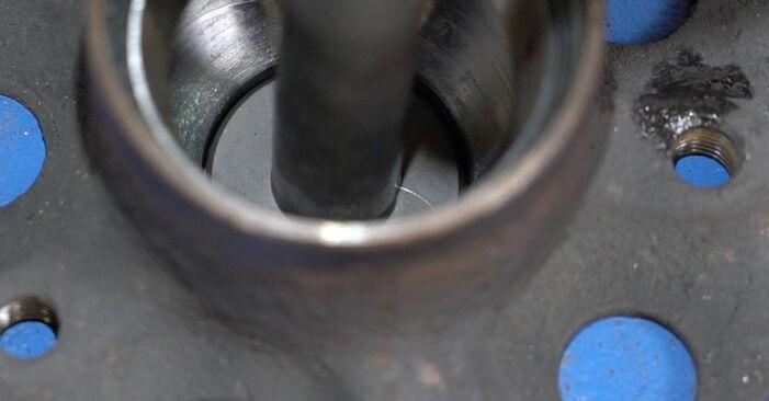 MERCEDES-BENZ C-CLASS C 200 1.8 Kompressor (203.042) Rattalaager vahetus: veebijuhendid ja õppevideod