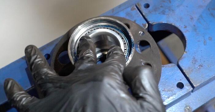 Radlager Ihres Mercedes W211 E 200 CDI 2.2 (211.007) 2002 selbst Wechsel - Gratis Tutorial