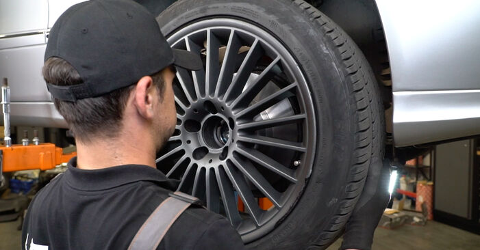 Zweckdienliche Tipps zum Austausch von Radlager beim MERCEDES-BENZ E-Klasse Limousine (W211) E 320 CDI 3.2 (211.026) 2008