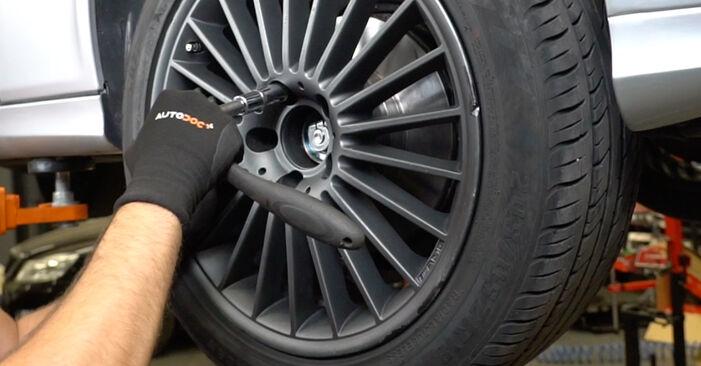 Mercedes W211 E 270 CDI 2.7 (211.016) 2004 Rato guolis keitimas: nemokamos remonto instrukcijos