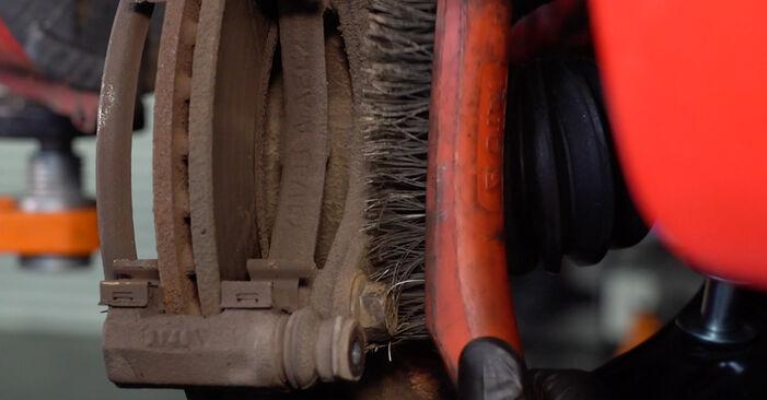 107 Schrägheck (PM_, PN_) 1.0 2006 1.4 HDi Bremsscheiben - Handbuch zum Wechsel und der Reparatur eigenständig