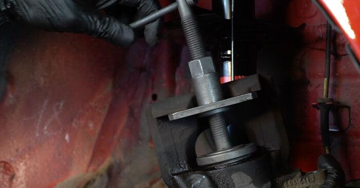 Austauschen Anleitung Bremsscheiben am PEUGEOT 107 2005 1.0 selbst