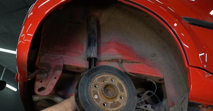 Stoßdämpfer PEUGEOT 107 1.0 2007 wechseln: Kostenlose Reparaturhandbücher