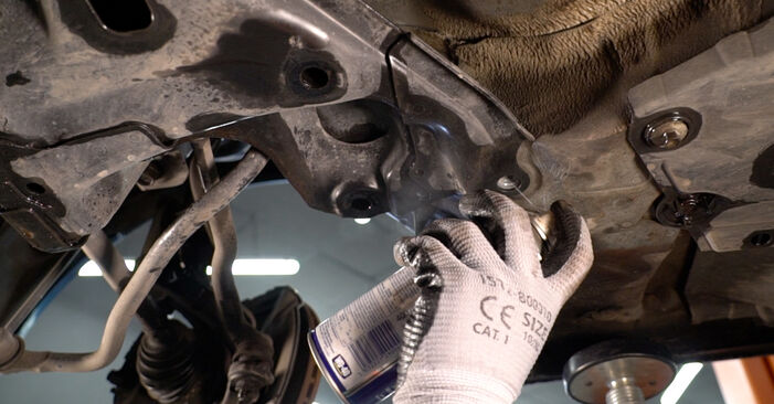 Changing Control Arm on HONDA INSIGHT (ZE_) 1.3 Hybrid (ZE28, ZE2) 2012 by yourself