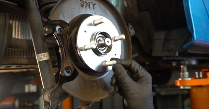 How hard is it to do yourself: Wheel Bearing replacement on Honda Insight ZE2/ZE3 1.3 Hybrid (ZE28, ZE2) 2015 - download illustrated guide