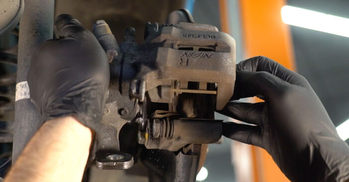 HONDA INSIGHT 1.3 Hybrid (ZE28, ZE2) Bremsbeläge ausbauen: Anweisungen und Video-Tutorials online