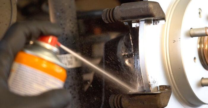 INSIGHT (ZE_) 1.3 Hybrid (ZE2) 2020 Brake Pads DIY replacement workshop manual