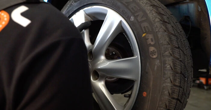 How to replace Brake Pads on HONDA INSIGHT (ZE_) 2014: download PDF manuals and video instructions