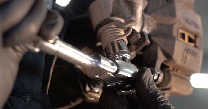 Bremsbeläge beim HONDA INSIGHT 1.3 Hybrid (ZE2) 2016 selber erneuern - DIY-Manual