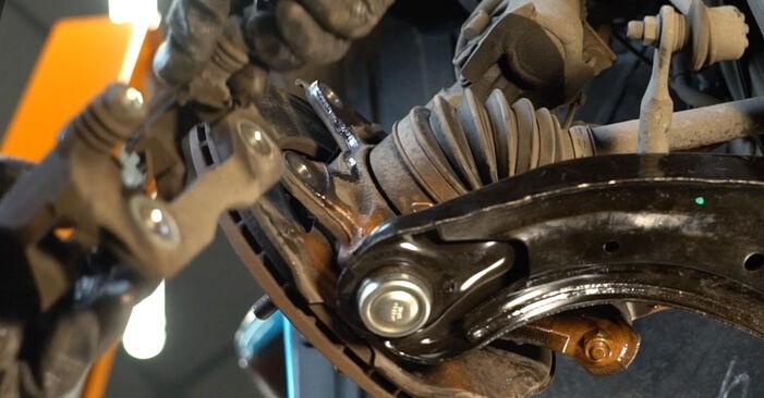 Schritt-für-Schritt-Anleitung zum selbstständigen Wechsel von Honda Insight ZE2/ZE3 2009 1.3 Hybrid (ZE2) Bremsscheiben