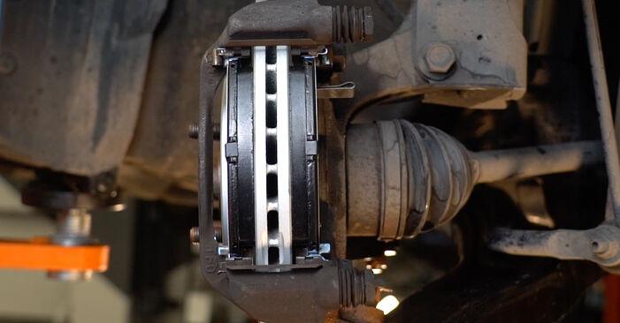 Austauschen Anleitung Bremsscheiben am Honda Insight ZE2/ZE3 2019 1.3 Hybrid (ZE28, ZE2) selbst