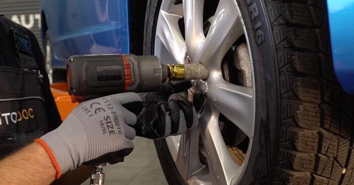 Wie HONDA INSIGHT 1.3 Hybrid (ZE2) 2013 Bremsscheiben ausbauen - Einfach zu verstehende Anleitungen online