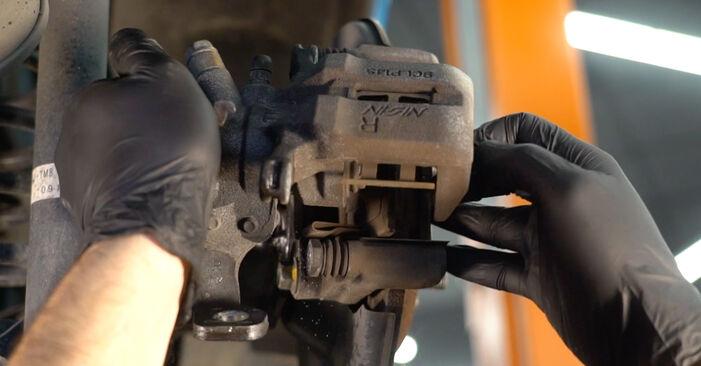 HONDA INSIGHT 1.3 Hybrid (ZE28, ZE2) Bremsscheiben ausbauen: Anweisungen und Video-Tutorials online