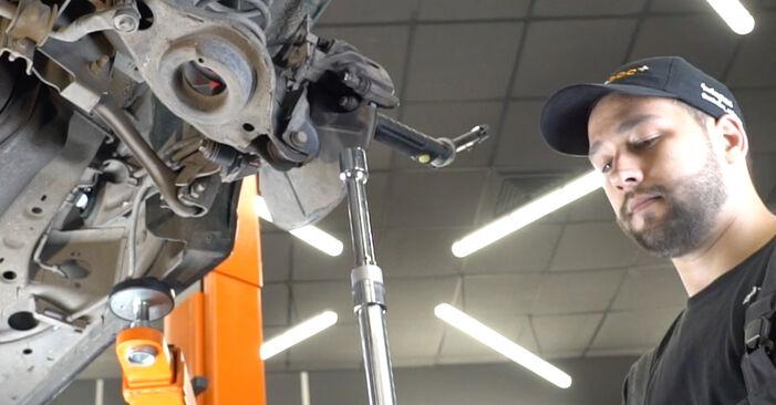 Stoßdämpfer Ihres Ford Focus DAW 1.6 16V Flexifuel 2006 selbst Wechsel - Gratis Tutorial