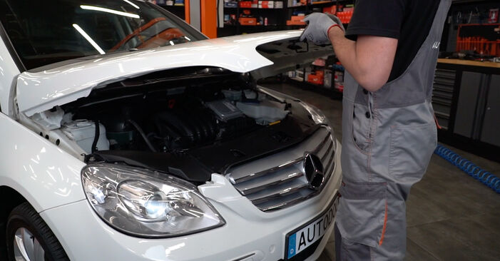 How to change Brake Discs on Mercedes W245 2005 - free PDF and video manuals