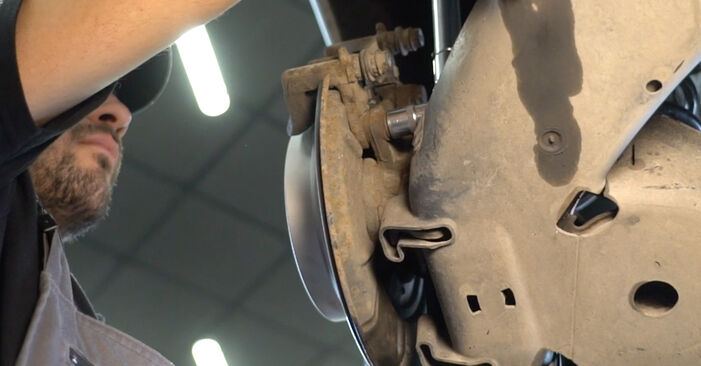 Need to know how to renew Brake Discs on MERCEDES-BENZ B-CLASS ? This free workshop manual will help you to do it yourself