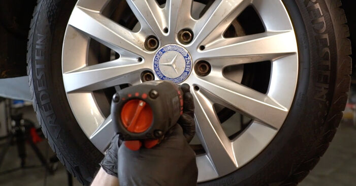 How to change Brake Discs on Mercedes W245 2004 - free PDF and video manuals
