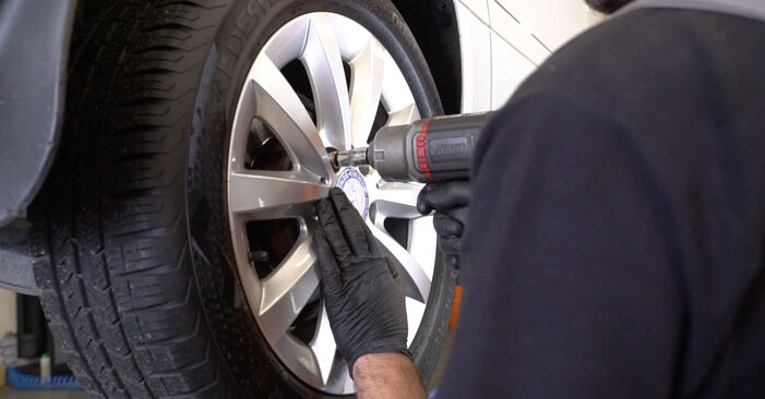 How to remove MERCEDES-BENZ B-CLASS B 150 1.5 (245.231) 2008 Brake Discs - online easy-to-follow instructions