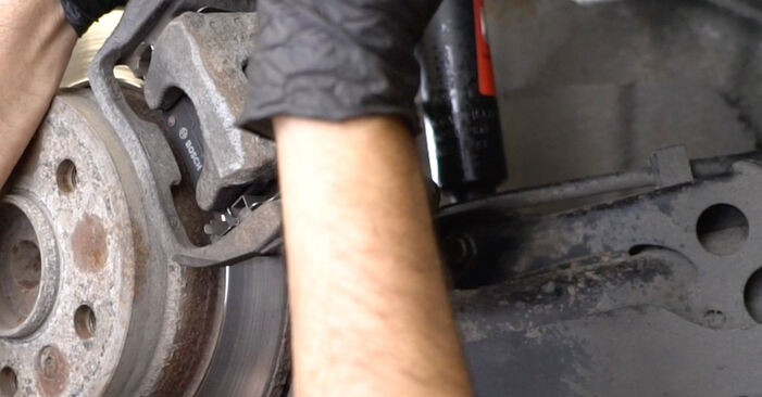 Changing of Brake Discs on Mercedes W245 2012 won't be an issue if you follow this illustrated step-by-step guide
