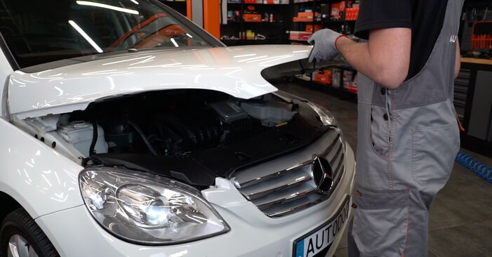 How to change Brake Pads on Mercedes W245 2005 - free PDF and video manuals