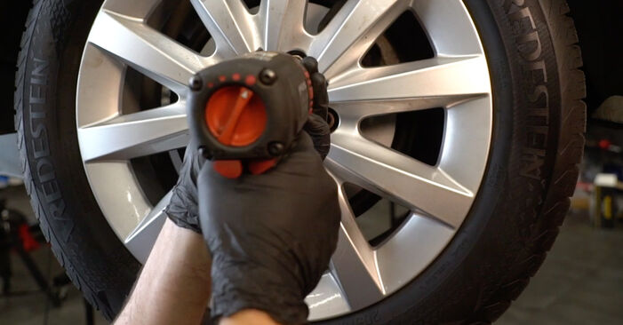 How to replace Brake Pads on MERCEDES-BENZ B-Class (W245) 2009: download PDF manuals and video instructions