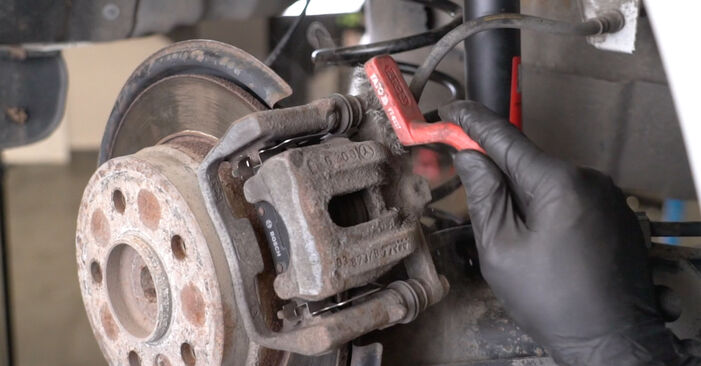 How hard is it to do yourself: Brake Pads replacement on Mercedes W245 B 180 1.7 (245.232) 2010 - download illustrated guide